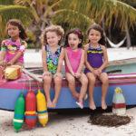 Модные купальники для девочек+
